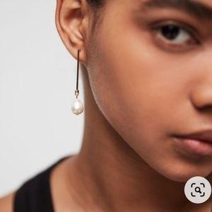 Allsaints Pearl Drop Earrings